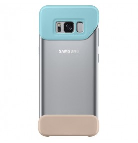Husa 2 Piece Cover Samsung Galaxy S8 G950, Mint si Brown