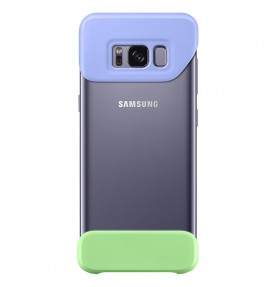 Husa 2 Piece Cover Samsung Galaxy S8 G950, Violet si Green