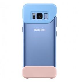 Husa 2 Piece Cover Samsung Galaxy S8 Plus G955, Blue si Peach