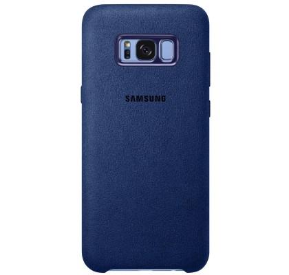 Husa Alcantara Cover pentru Samsung Galaxy S8 Plus, Blue