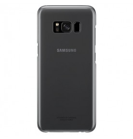 Husa Protective Cover Clear Samsung Galaxy S8 Plus, Black