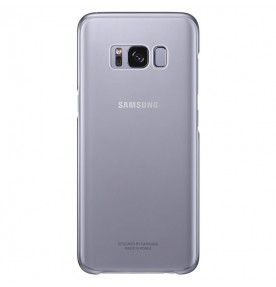 Husa Protective Cover Clear Samsung Galaxy S8 Plus, Violet