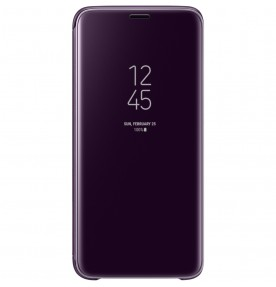 Husa Clear View Standing Cover Samsung Galaxy S9, Purple