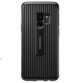 Husa Protective Standing Cover Samsung Galaxy S9, Black