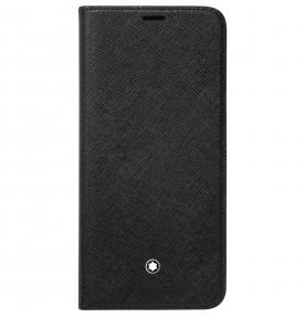 Husa Flip Wallet Montblanc Sartorial pentru Samsung Galaxy S9 Plus, Black