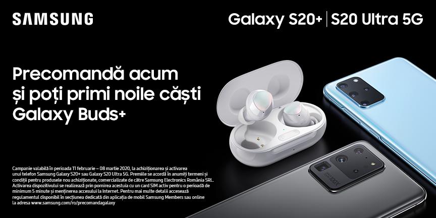 Precomanda Samsung Galaxy S20
