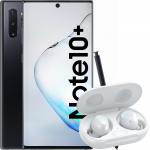 Pachet PROMO Samsung: Galaxy Note 10+, 512GB, 4G, Black & Galaxy Buds+, White