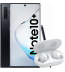 Pachet PROMO Samsung: Galaxy Note 10+, 512GB, 4G, Black & Galaxy Buds+, White