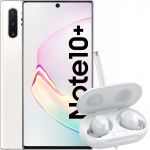 Telefon mobil Samsung Galaxy Note 10+, 512GB, 12GB RAM, Dual SIM, 4G, Aura White