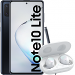 Pachet PROMO Samsung: Galaxy Note 10 Lite, 128GB, Black & Galaxy Buds+, White