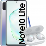 Pachet PROMO Samsung: Galaxy Note 10 Lite, 128GB, Glow & Galaxy Buds+, White