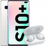 Pachet PROMO Samsung: Galaxy S10+, 1TB, Ceramic White & Galaxy Buds+, White