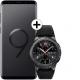 Pachet PROMO Samsung: Galaxy S9, 64GB, Black + Gear S3 Frontier