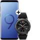 Pachet PROMO Samsung: Galaxy S9, 64GB, Blue + Gear S3 Frontier
