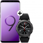 Pachet PROMO Samsung: Galaxy S9, 64GB, Purple + Gear S3 Frontier