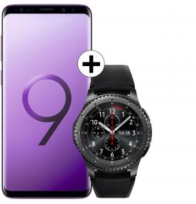 Pachet PROMO Samsung: Galaxy S9, 64GB, Purple + Gear S3 Frontier