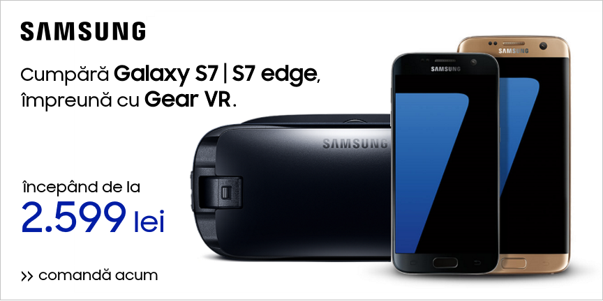 Galaxy S7 | S7 edge + Gear VR
