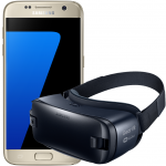 Pachet Promo Samsung: Galaxy S7, 32GB, 4G, Gold + Gear VR (2016)