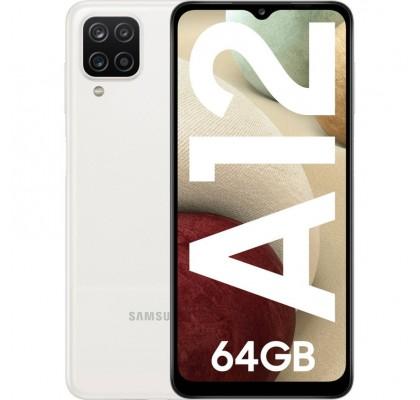 Samsung Galaxy A12, Dual SIM, 64GB, 4G, White