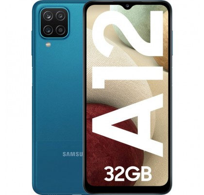 Samsung Galaxy A12, 32GB, Dual SIM, 4G, Blue