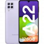 Samsung Galaxy A22, 4G, 128GB, 4GB RAM, Dual SIM, Violet
