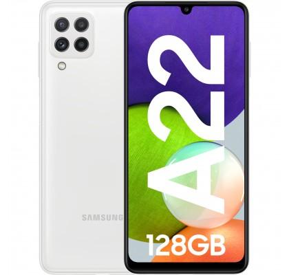 Samsung Galaxy A22, 4G, 128GB, 4GB RAM, Dual SIM, White