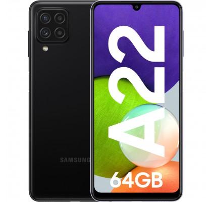 Samsung Galaxy A22, 4G, 64GB, 4GB RAM, Dual SIM, Black