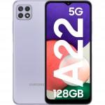 Samsung Galaxy A22, 5G, 128GB, 4GB RAM, Dual SIM, Violet