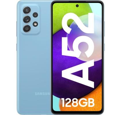 Samsung Galaxy A52 (2021), 128GB, 6GB RAM, Dual SIM, LTE, Blue