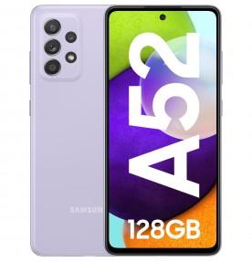 Samsung Galaxy A52 (2021), 128GB, 6GB RAM, Dual SIM, 5G, Violet