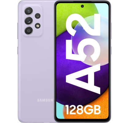 Samsung Galaxy A52 (2021), 128GB, 6GB RAM, Dual SIM, LTE, Violet