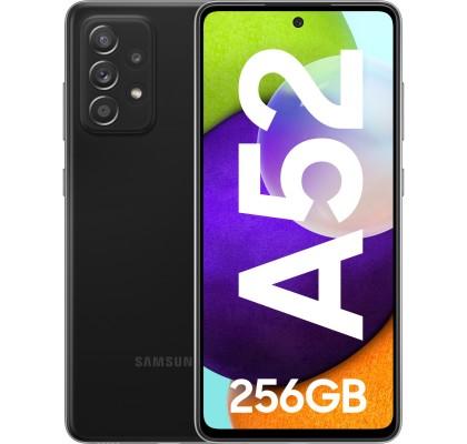 Samsung Galaxy A52 (2021), 256GB, 8GB RAM, Dual SIM, LTE, Black