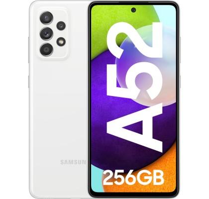 Samsung Galaxy A52 (2021), 256GB, 8GB RAM, Dual SIM, LTE, White