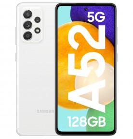 Samsung Galaxy A52 (2021), 128GB, 6GB RAM, Dual SIM, 5G, White