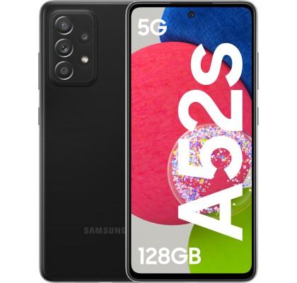 Samsung Galaxy A52s 5G, 128GB, 6GB RAM, Dual SIM, Awesome Black