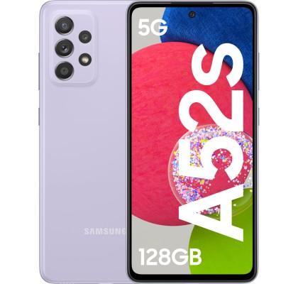 Samsung Galaxy A52s 5G, 128GB, 6GB RAM, Dual SIM, Awesome Violet