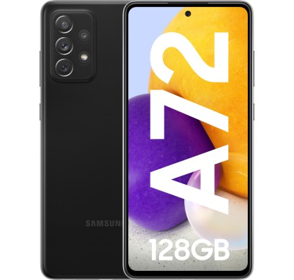 Samsung Galaxy A72 (2021), 128GB, 6GB RAM, Dual SIM, 4G, Black