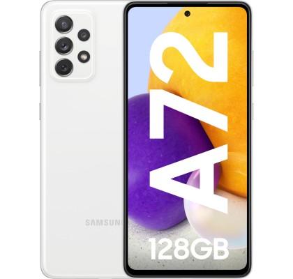Samsung Galaxy A72 (2021), 128GB, 6GB RAM, Dual SIM, 4G, White