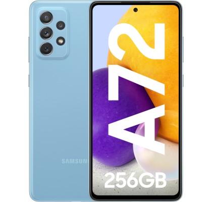 Samsung Galaxy A72 (2021), 256GB, 8GB RAM, Dual SIM, 4G, Blue