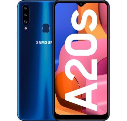 Telefon mobil Samsung Galaxy A20s, Dual SIM, 32GB, LTE, Blue