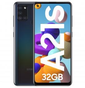 Telefon mobil Samsung Galaxy A21s (2020), Dual SIM, 32GB, LTE, Black