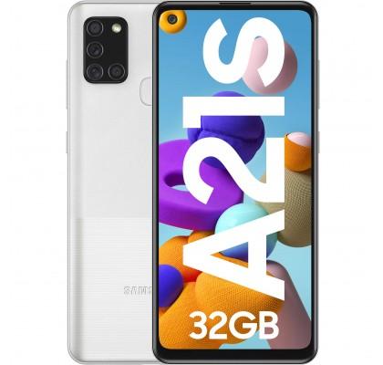 Telefon mobil Samsung Galaxy A21s (2020), Dual SIM, 32GB, LTE, Silver