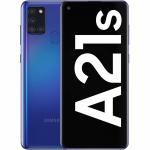 Telefon mobil Samsung Galaxy A21s (2020), Dual SIM, 32GB, LTE, Blue