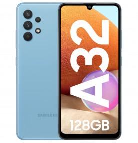 Samsung Galaxy A32, 4G, 128GB, 4GB RAM, Dual SIM, Awesome Blue