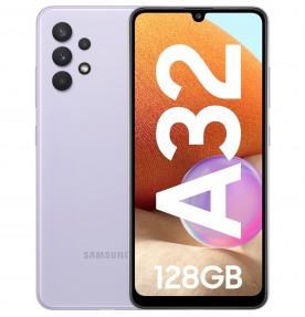 Samsung Galaxy A32, 4G, 128GB, 4GB RAM, Dual SIM, Awesome Violet