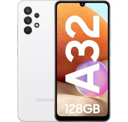 Samsung Galaxy A32, 4G, 128GB, 4GB RAM, Dual SIM, Awesome White
