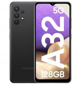 Samsung Galaxy A32, 5G, 128GB, 4GB RAM, Dual SIM, Awesome Black