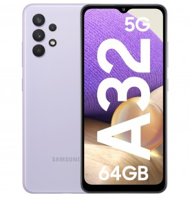 Samsung Galaxy A32, 5G, 128GB, 4GB RAM, Dual SIM, Awesome Violet