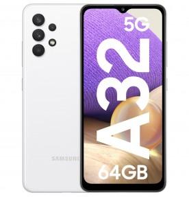 Samsung Galaxy A32, 5G, 64GB, 4GB RAM, Dual SIM, Awesome White