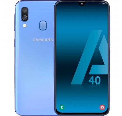 Telefon mobil Samsung Galaxy A40, Dual SIM, 64GB, LTE, Blue